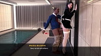 Fashion Sex Episode 10 Beautiful and Delicious Wife is hired as a Maid but is Harassed by her boss and Fucked like a Bitch in the Anal Ass
