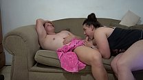 Step Brother caught s. by his Huge Ass Pawg sister and she takes advantage!
