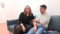 Horny married couple star in a scene for their first time and find out they love it!!!