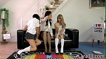 Classy milf les making out with schoolgirls