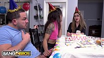 BANGBROS - Teen Holly Hendrix Doing Anal At Her 18th Bday Party