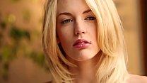 Breathtakingly beautiful blonde teen Blake Bartelli undressing