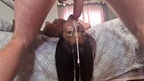 Desi whore upside down facefuck