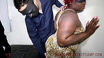 Marley XxX TotalFetishxxx BBW ebony interracial femdom bondage kink huge tits b