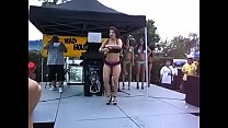 Hot bikini dance