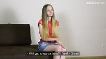 Hot first time casting solo babe Ellis