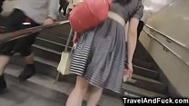 Japanese teen whore fucked in a brothel