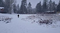 Nicky Ferrari Snow Man