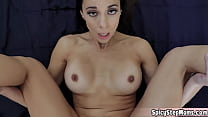 Stepmother is a sex addict and she need cum inside her
