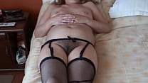 MATURE MOTHER, HOT WIFE, STARTS TO GET EXCITED AND EXHIBITS HER HAIRY PUSSY WELL OPEN FOR THEM TO JERK OFF, HIDDEN CAMERA, EROTIC MOMENTS OF MY HOT OLD