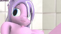 Relax in the shower Pony SEX