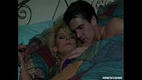 Huge tits blonde Sally Layd in classic sex video getting anal in her perfect booty at Pornstar Legends