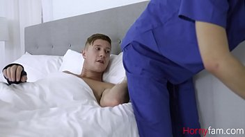 Nurse Sister Helps Brother With Blue Balls