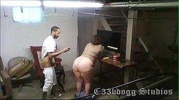 Huge Ass Motel Worker Pounded on Secret Cam