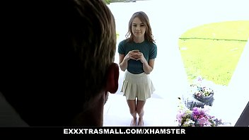 Exxxtra Small - Petite Chick Ellie Eilish Pounded By Hung Dad