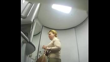 Hidden camera in train toilet (TRAIN 2)