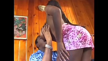 Busty Sierra with big boobs rides black dick reverse cowgirl in motel
