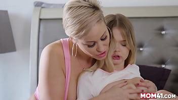 Maman baise sa belle-fille de 18 ans - Maman 41