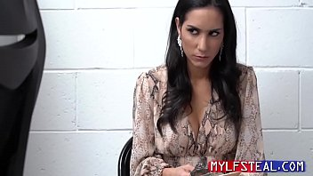 MILF Horny Fucked By Security