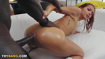 Latin Babe Veronica Leal Getting Big Black Dick Shoved Up Her Tight Ass Hole
