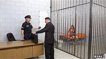18-year-old Teen Must Fuck Her Way Out of Jail