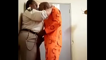 A ceiminal punding on  prison warder in south africa in gauteng