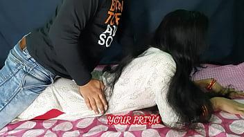 प्रिया को चोद-चोद कर रुला दिया उसके पति ने  