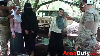 Soldiers Bring Arab Whores To Base Camp For Orgy