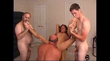BDSM, Ass Fingering with a Squirting MILF