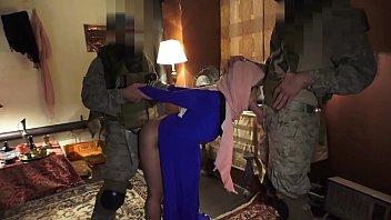 TOUROFBOOTY - Muslim Hooker Sucks & Fucks For Cold Hard Cash In A War Zone!