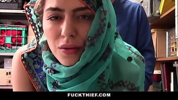 Arab Shoplifter Fucked By Mall Officer