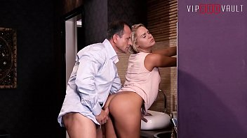 VIP SEX VAULT - European Blondie Barra Brass Bless New House With New Cock